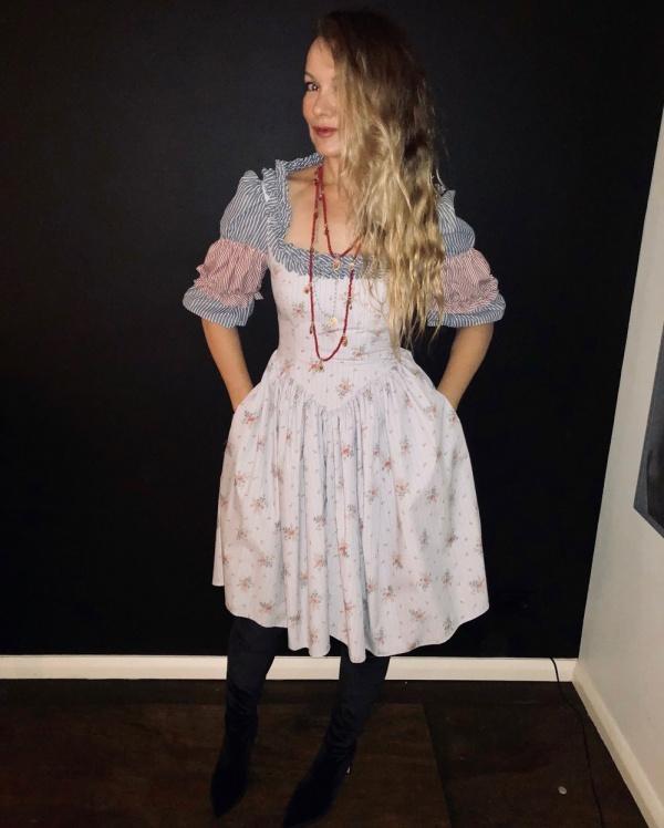 Fashion designer Marnie Skillings