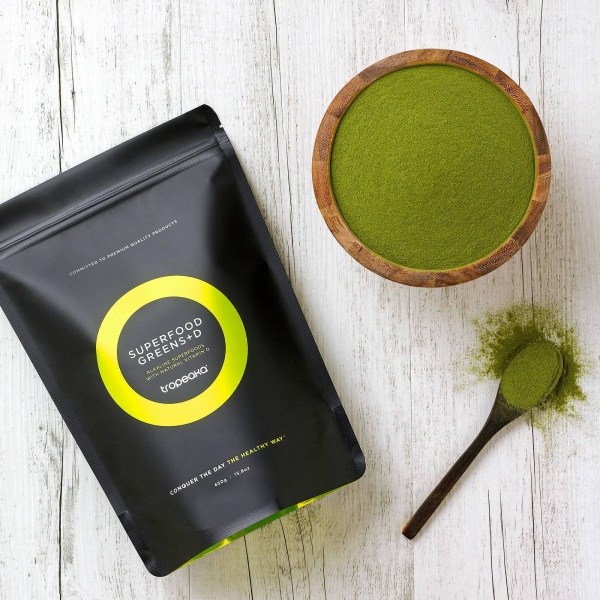Tropeaka Superfood Greens + D