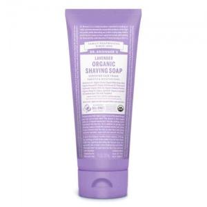 Dr Bronner's organic shaving soap