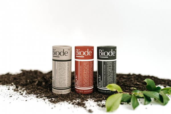 Biode's natural and home compostable body care