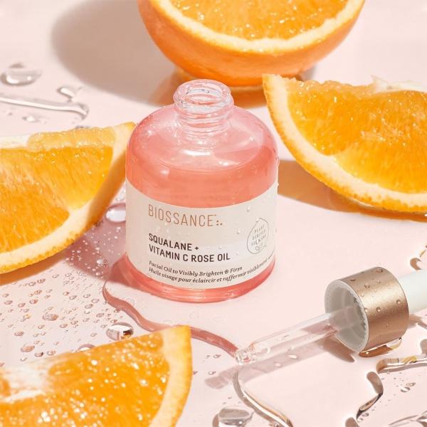 biossance vitamin c and squalane oil