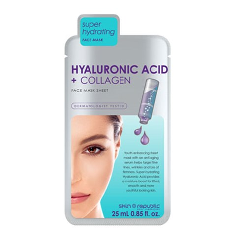 Skin Republic Hyaluronic + Collagen Sheet Mask