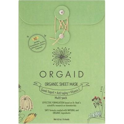 Orgaid sheet masks