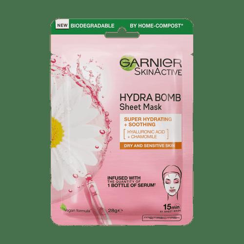Garnier sheet mask