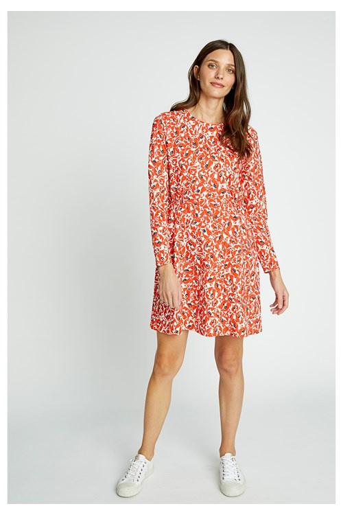 people tree bianca-orange-floral-dress--77b90ccf5be8