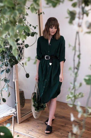 Seaside Tones oversized dress