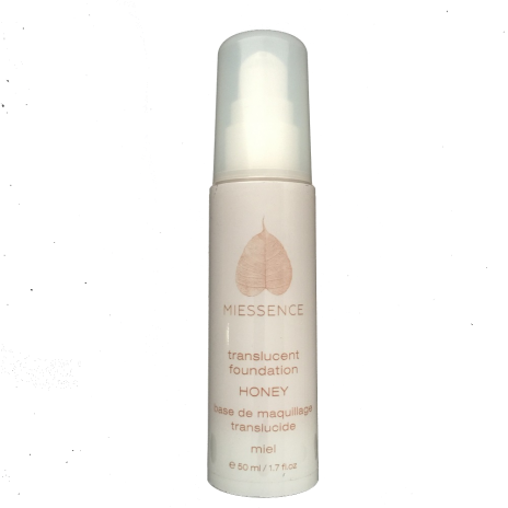 Miessence translucent honey foundation