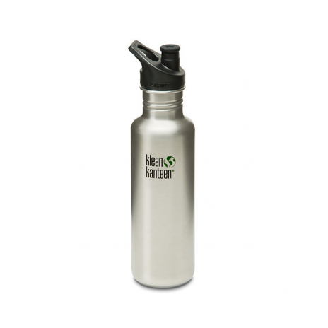 klean-kanteen-27oz-800ml-bottle-brushed-steel-new