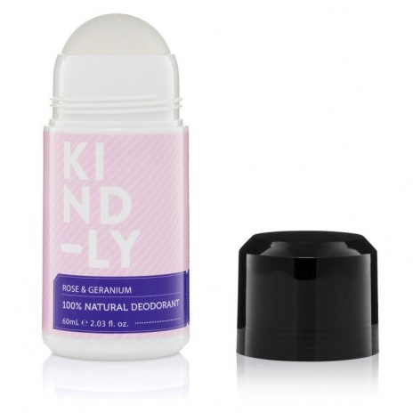 KIND-LY Natural Deodorant Rose Geranium