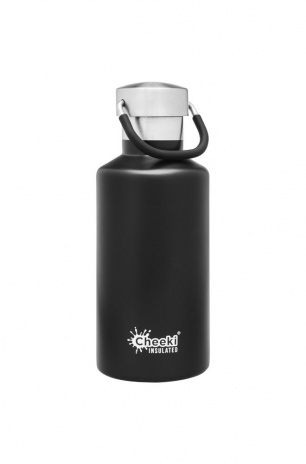 cheeki 400ml_Insulated_Classic_Black_Front