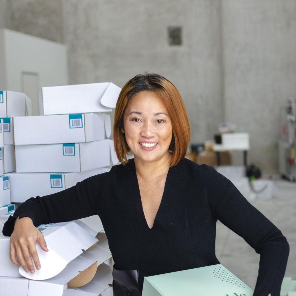 Re-Sparkle founder Pearl Chan