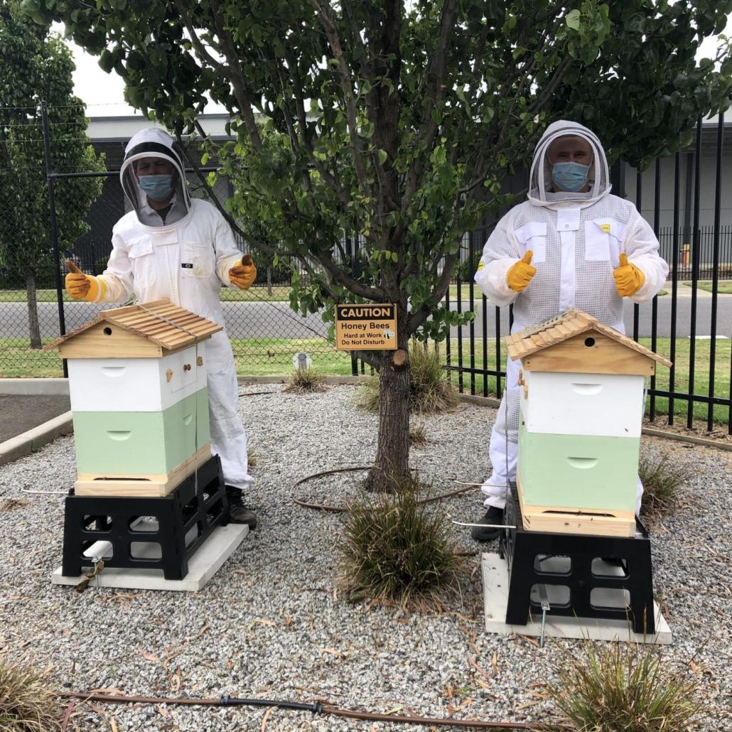 Sima Tomici is l'Oreal Australia's passionate beekeeper.