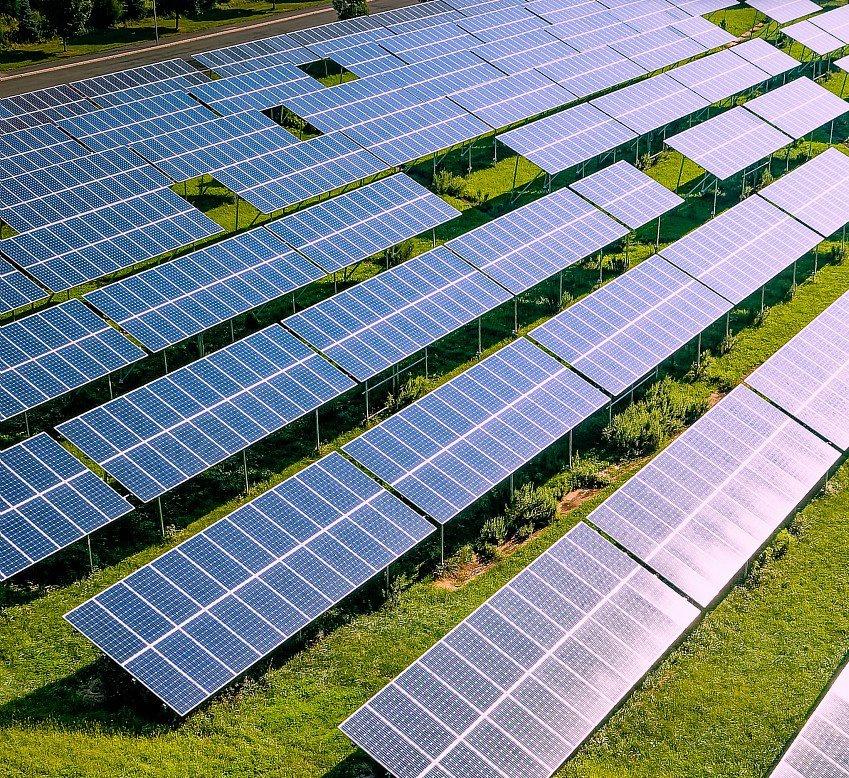 L'Oreal solar panels