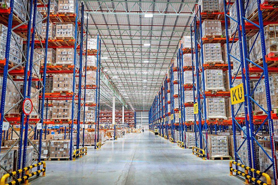 L'Oreal Australia warehouse